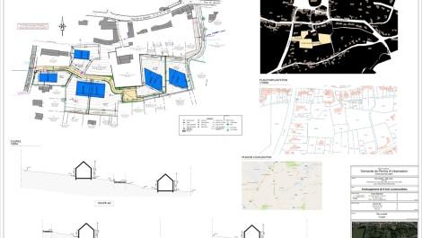 Plancenoit – Dans un futur clos comprenant 6 entités, sélection de 2 parcelles à bâtir d'une contenance de 11 et 13 ares permettant l'implantation de 2 maisons unifamiliales 3 façades de 200m² habitables.