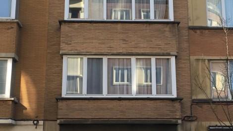 Cimetière d'Ixelles,magnifique appartement 66m² habitables, 1 chambre + balcon